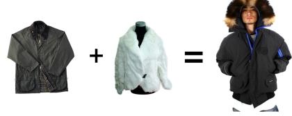 barbour+fur=canada goose